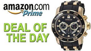 Mens Watches Cheap | Invicta Men's 6981 Pro Diver Analog Swiss Chronograph Black Polyurethane Watch