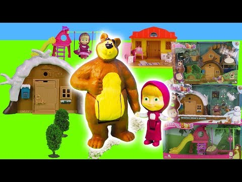 mascha-and-the-bear-toys:-dolls-and-mascha's-house-and-city-|-children's-toys