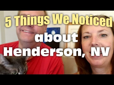 5 Things We Noticed About Henderson, NV