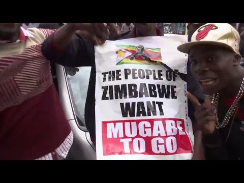 'We are going to take our Zimbabwe back': protesters call for Mugabe to go