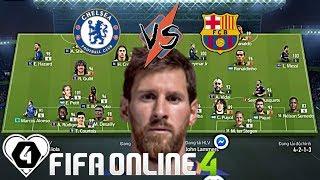FIFA ONLINE 4 | Kí Ức 10 Năm Thư Hùng C1 Lịch Sử: CHELSEA VS BARCELONA | Vòng 1/8 Giải Đấu ILFCL