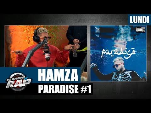 "Planète Rap - Hamza ""Paradise""  #Lundi"