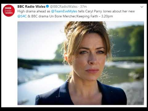 Eve Myles - BBC Radio Wales‏ talking her new @S4C & BBC drama Un Bore Mercher /Keeping Faith