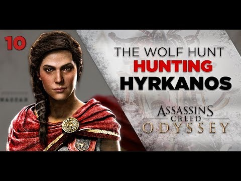 Assassins Creed Odyssey Gameplay   THE WOLF HUNT - Hunting Hyrkanos [10] 1