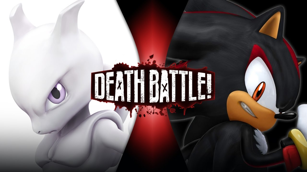 Mewtwo VS Shadow (Pokémon VS Sonic the Hedgehog) | DEATH BATTLE!