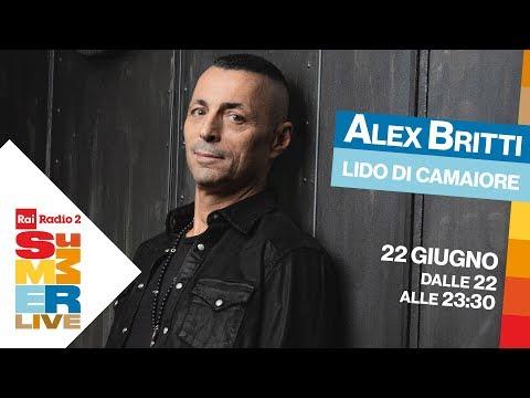 Alex Britti In Concerto A Lido Di Camaiore Per Radio2 Summer Live