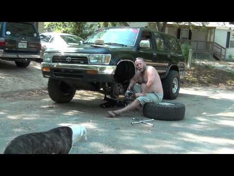 Installing wheel spacers on a 94 toyota 4runner