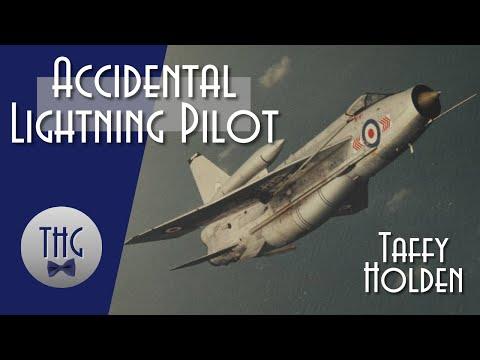 Taffy Holden, the Accidental Lightning Pilot