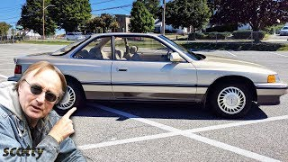 Here's Why the Acura Legend was the First Japanese Luxury Car in America