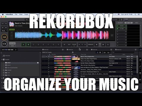 REKORDBOX TUTORIAL - MUSIC MANAGEMENT