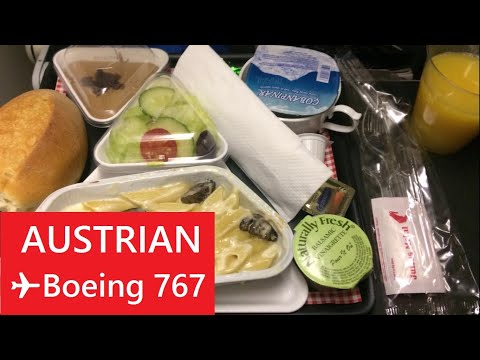 AUSTRIAN | Boeing 767-300 | Economy Class report | New York to Vienna [NYC - VIE] ✈