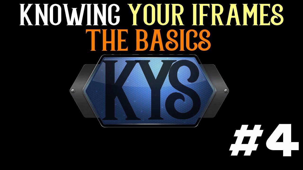 Frames Vs Iframes - Page 3 - Frame Design & Reviews ✓