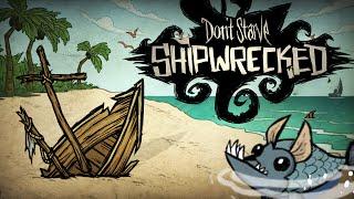 Don't Starve: Shipwrecked - Гарпун и Морские Твари!