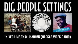 Dancehall Reggae Mix - Big People Settings - Little John, Sugar Minott, Frankie Paul, Josey Wales
