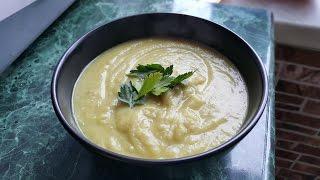 Рецепт Грибного суп-крем-пюре с шампиньонами
