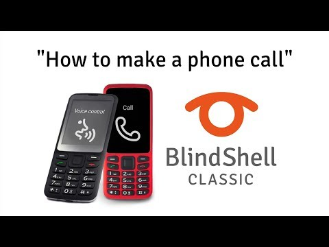 How To Make A Phone Call - BlindShell Classic Tutorials