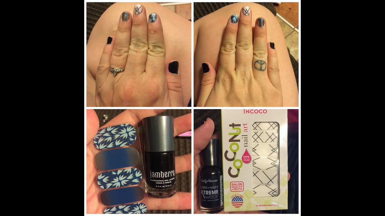 Theirs Vs. Ours Episode 1 - Sally Hansen and Coconut Nail Art Vs ...