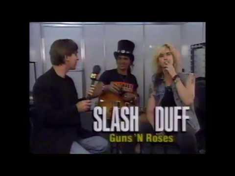 Classic Clips: Guns N Roses Slash and Duff McKagan Rock In Rio 2 1991