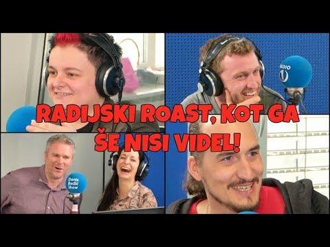PRVI RADIJSKI ROAST: Martina Ipša in Vid Valič sta si POŠTENO privoščila Radio 1 in jutranjo ekipo!