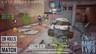 Call Of Duty Mobile   28 Kills Hard Point Match   Legendary Tier