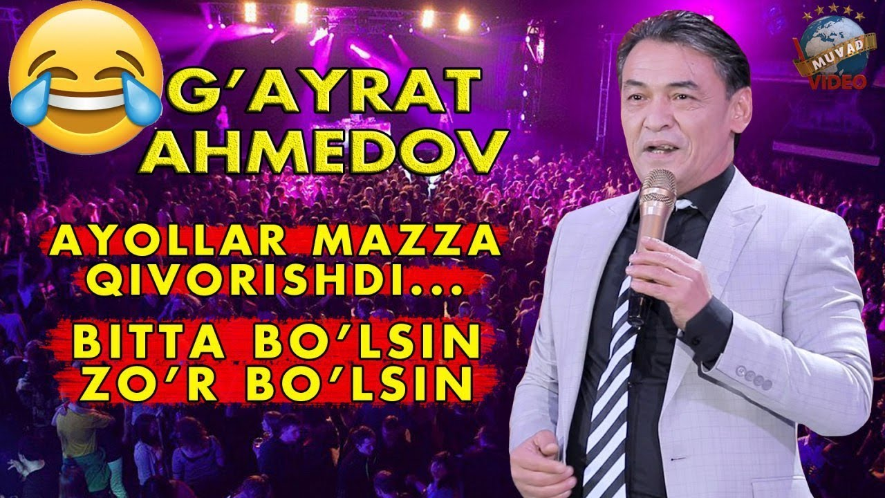G'ayrat Ahmedov - Bitta bo'lsin zo'r bo'lsin | Гайрат Ахмедов - Битта булсинг зур булсин