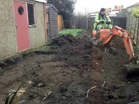 leveling and creating a terraced garden