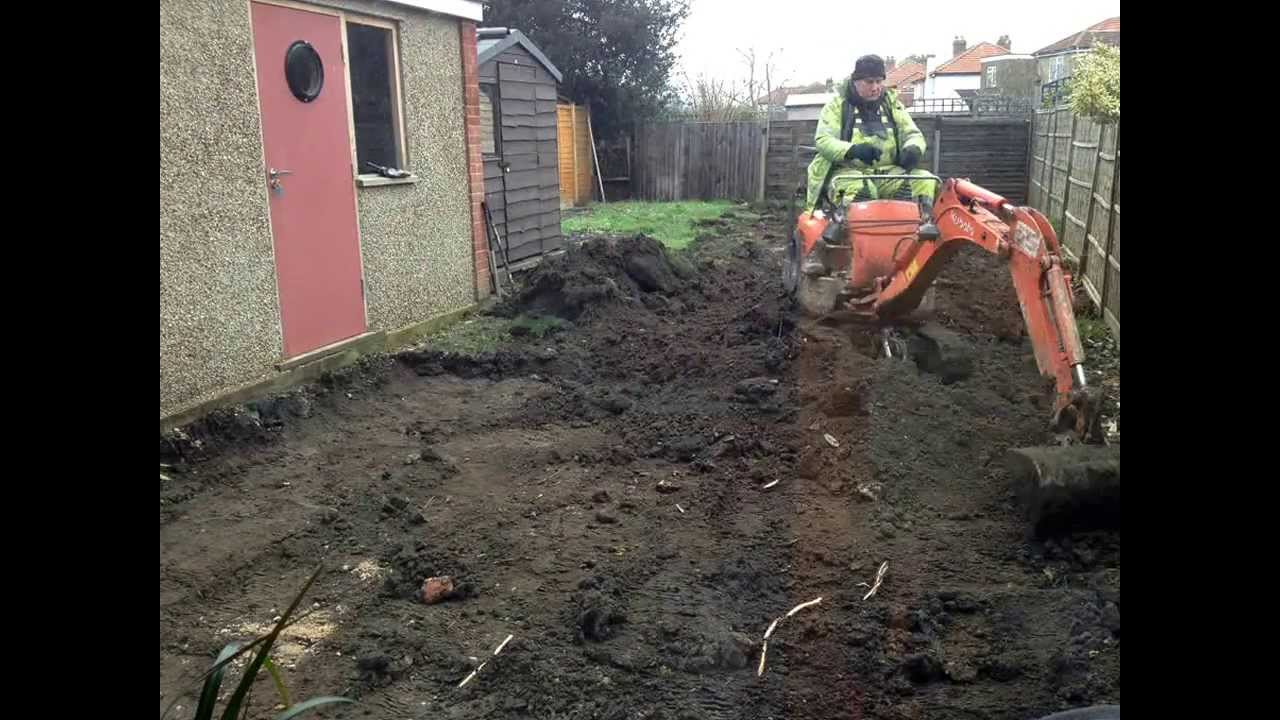 leveling and creating a terraced garden youtube