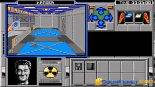 Space Wrecked gameplay (PC Game, 1991)