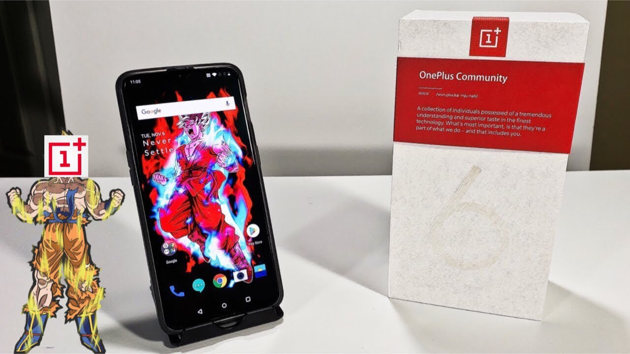 OnePlus 6T Detailed Unboxing And First Boot Up (Mirror Black 8GB Ram/128GB  Rom) HD