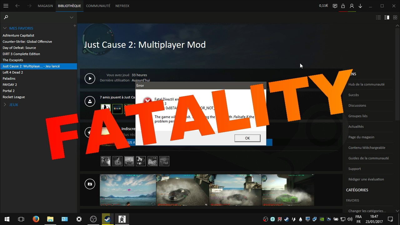HOW TO FIX THE CRASH! (JUST CAUSE 2 \u0026 JC2 MP) - YouTube