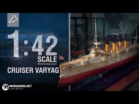 World of Warships - 1:42 Scale: Cruiser Varyag