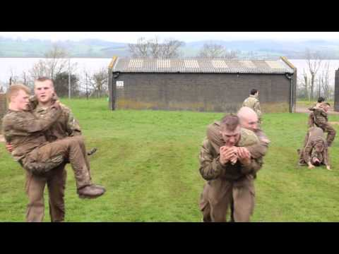 Potential Royal Marine Course 12 April 2016 with Bear Grylls