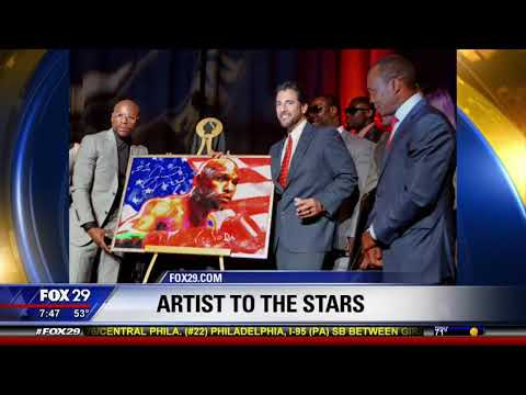 "Fox News Philadelphia 29 - Nicolosi Interview ""Artist Becoming Household Name with Pop Art Paintings"