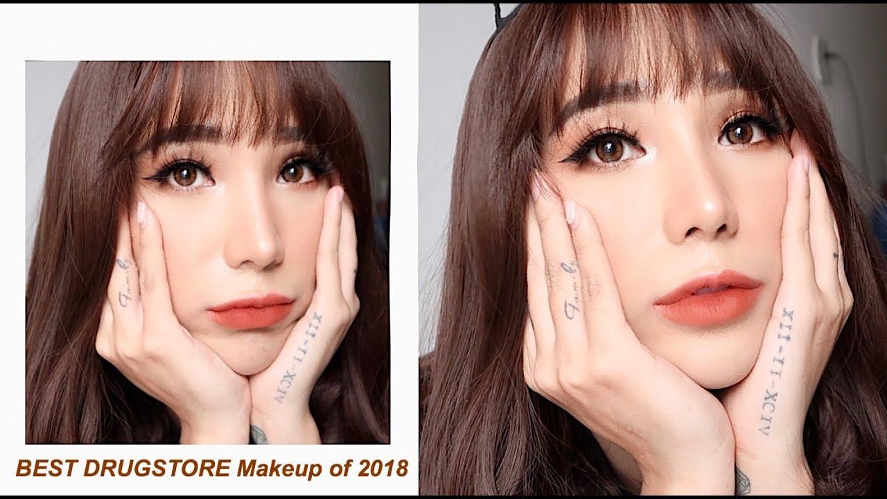 Tổng hợp các Sản Phẩm Makeup Rẻ + Xịn Nhất Định Phải Mua 2018|Best Drugstore Makeup of 2018