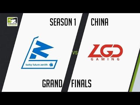 [CN] Lucky Future Zenith vs LGD Gaming (Part 2)   OWC 2018 Season 1: China [Grand Final]