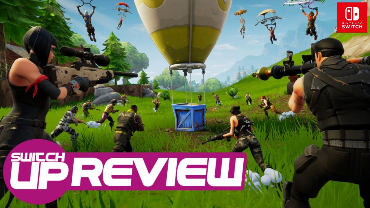 Fortnite Nintendo Switch Review - It has TWO (NONE NOW) MAJOR issues