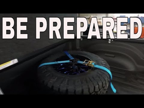 BE PREPARED – Lifted Truck Spare Tire & N-Fab Tire Carrier