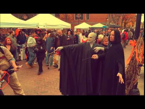 This is Halloween Salem MA 2014 - YouTube