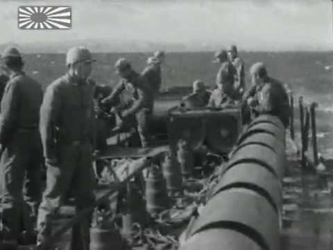 Imperial Japanese Navy Anti Submarine Warfare - Aichi E13A1 ASV Radar & Escort Ships - June 1945