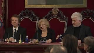 Almodóvar y Raphael, hijos adoptivos de Madrid