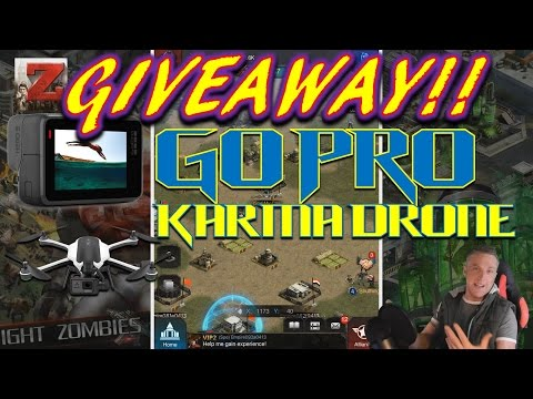 Last Empire : War Z *Go-Pro And Karma Drone Giveaway!* *KILL ZOMBIES*