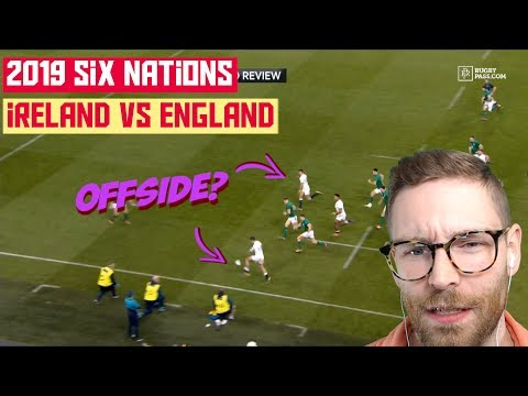 American REACTS to RUGBY | 6 Nations 2019 Ireland vs. England