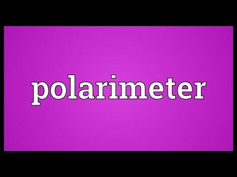 Header of polarimeter