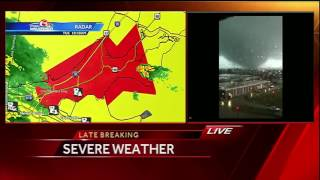 WATCH: Viewer shares video of tornado in New Orleans East