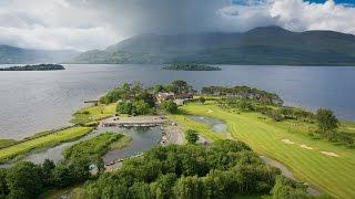 Aerial Drone Video   Killarney Golf Club