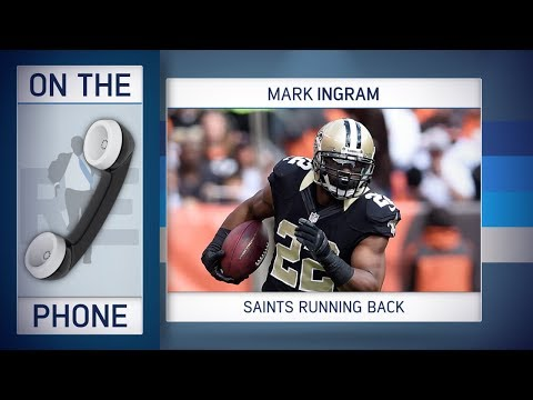 Saints RB Mark Ingram on Adrian Peterson, Beer Baths & More w/Rich Eisen | Full Interview