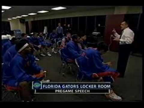 Billy Donovan Pregame Speech