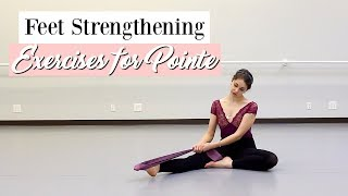 Feet Strengthening Exercises for Pointe | Suffolk Dance
