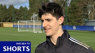 Chelsea: Courtois: Be strong