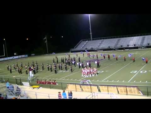 2012 Sardis High School Marching Band Performance